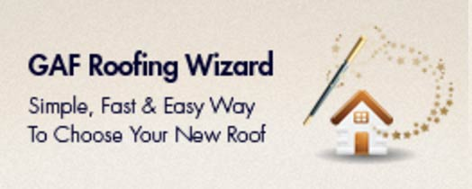 GAF Roofing Wizard